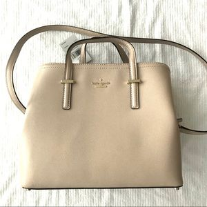 KATE SPADE Evangelie Patterson Drive Leather Rose